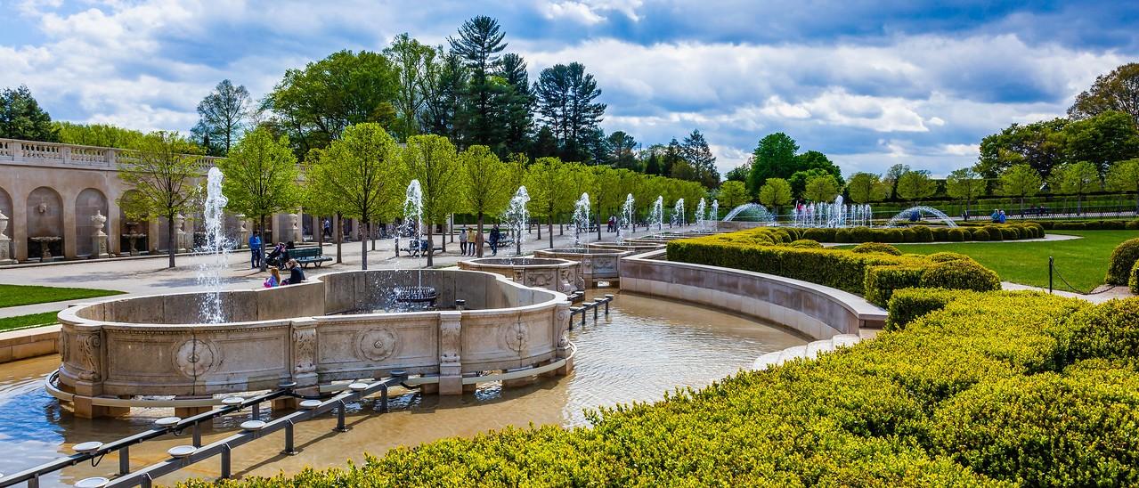 宾州长木公园,中央喷泉花园_图1-15