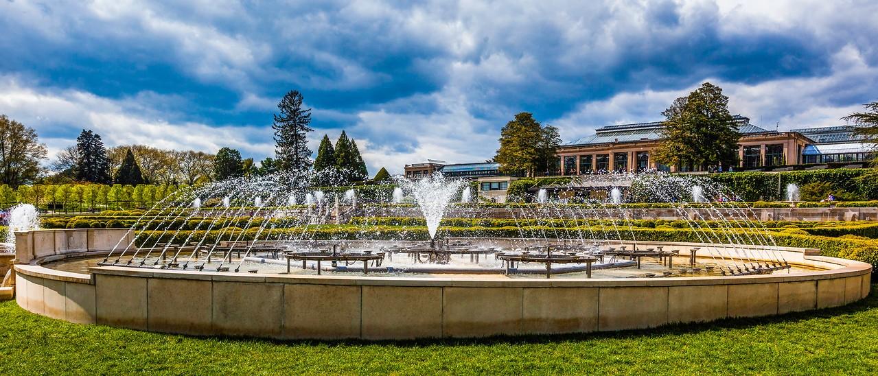 宾州长木公园,中央喷泉花园_图1-18
