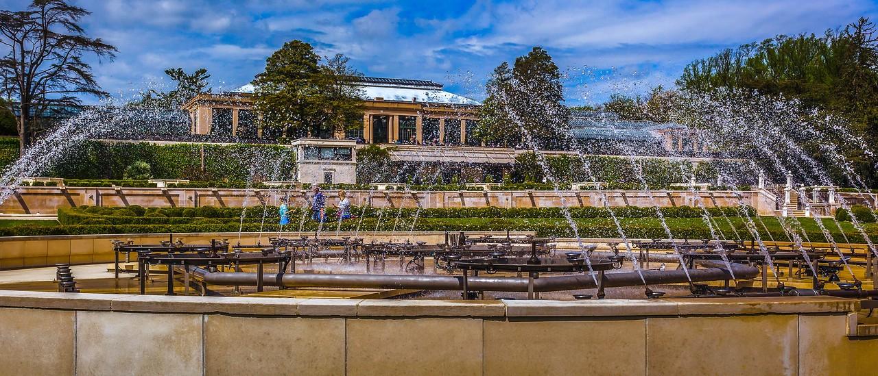 宾州长木公园,中央喷泉花园_图1-17