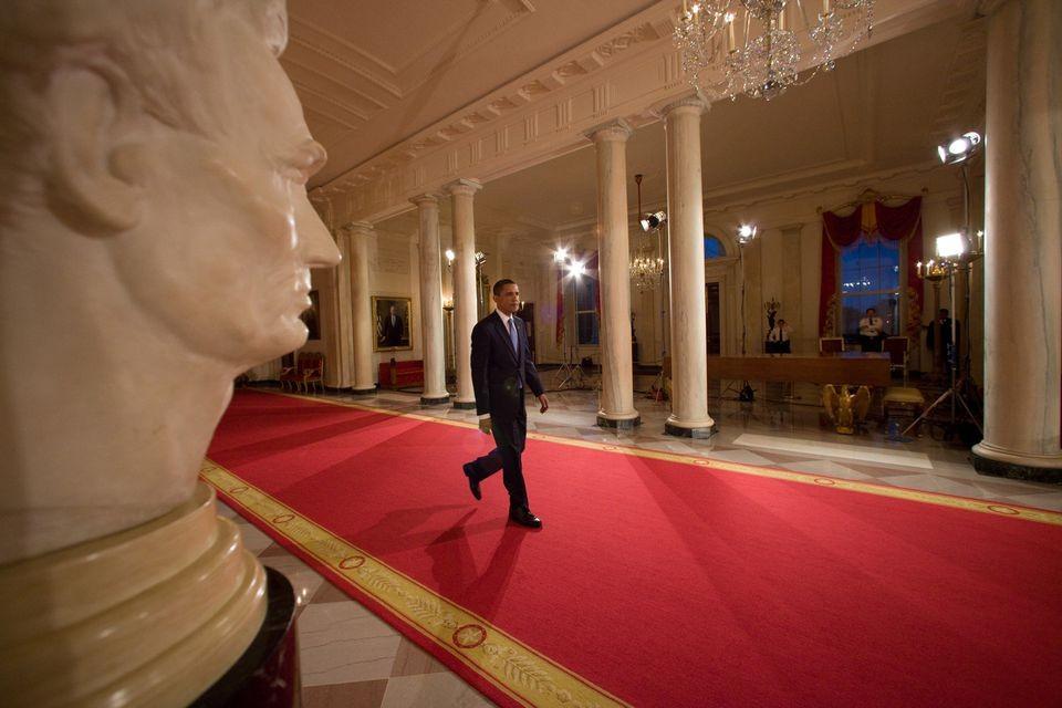 白宫是一副不完整的画。(笨小孩的世界之三十一)_图1-1