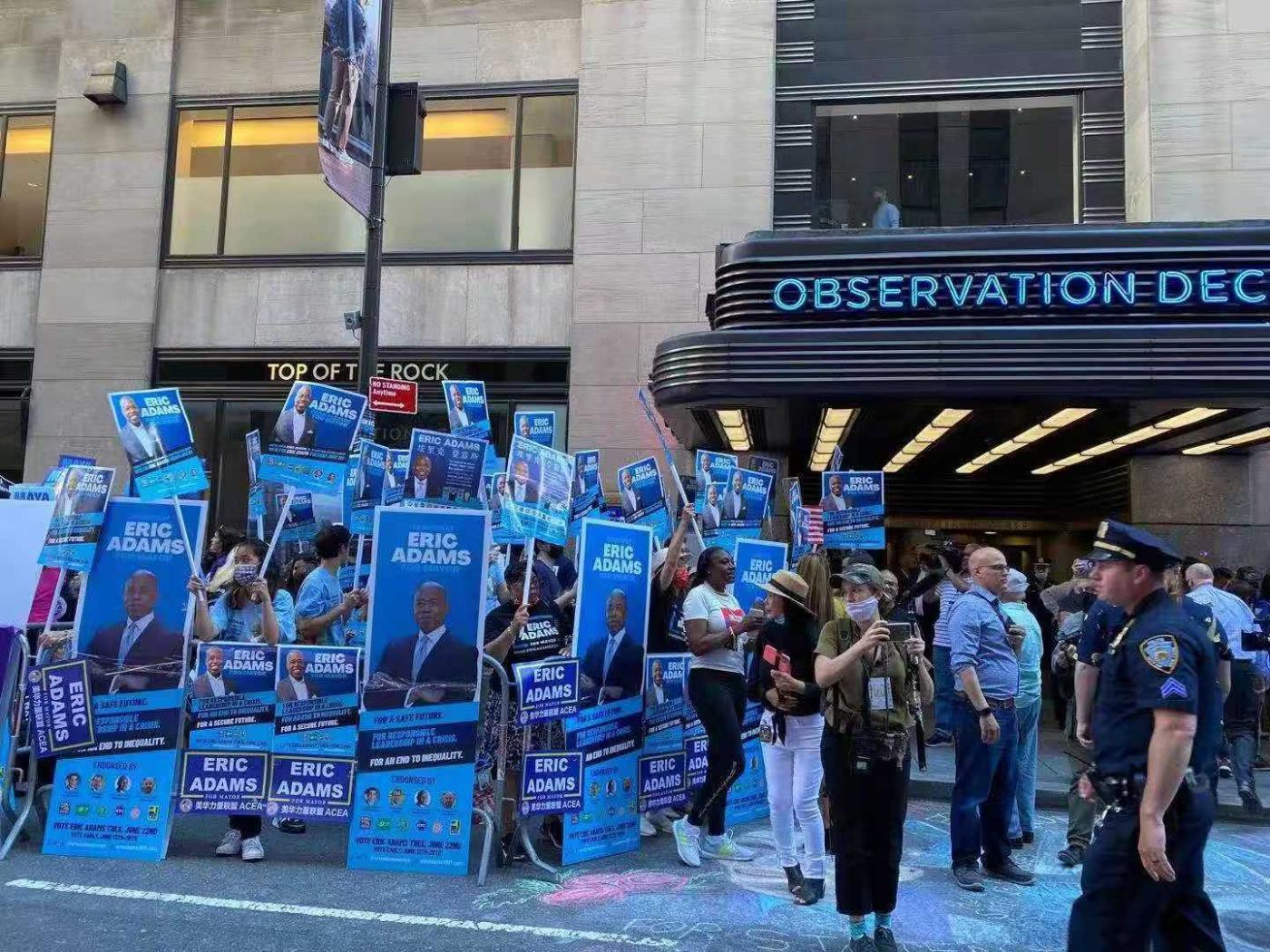 美国V视:纽约市长竞选,不看肤色,选对的人做对的事_图1-4