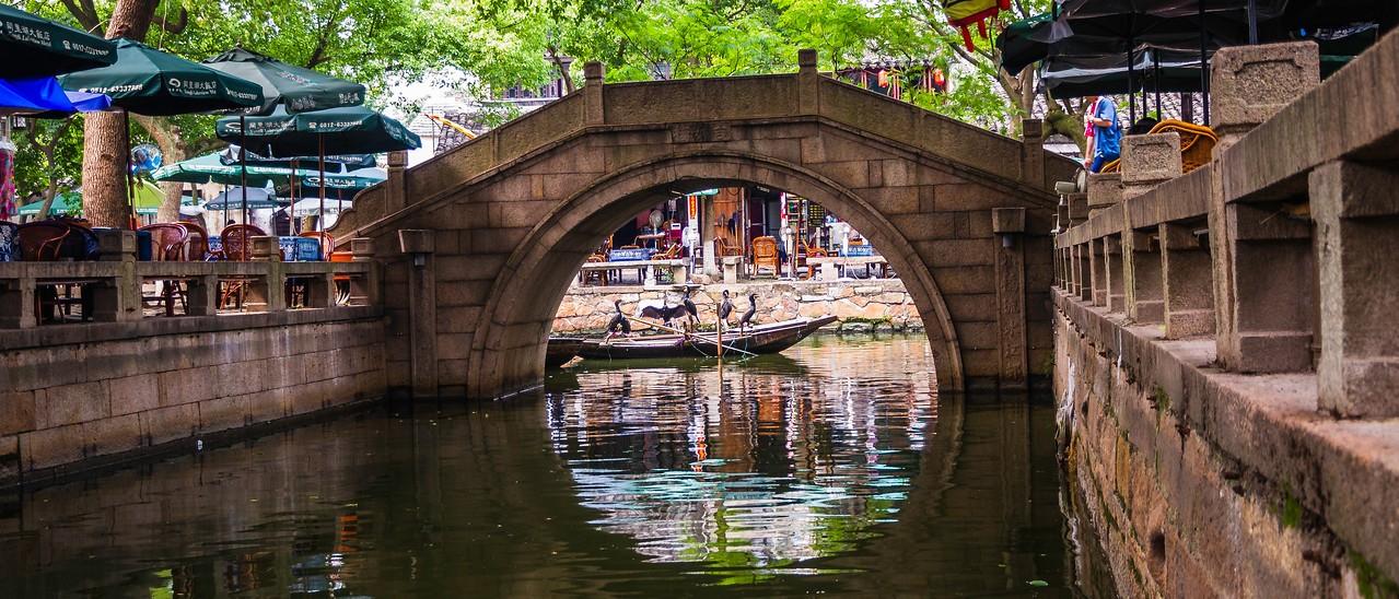 中国江苏同里,水上石桥_图1-1
