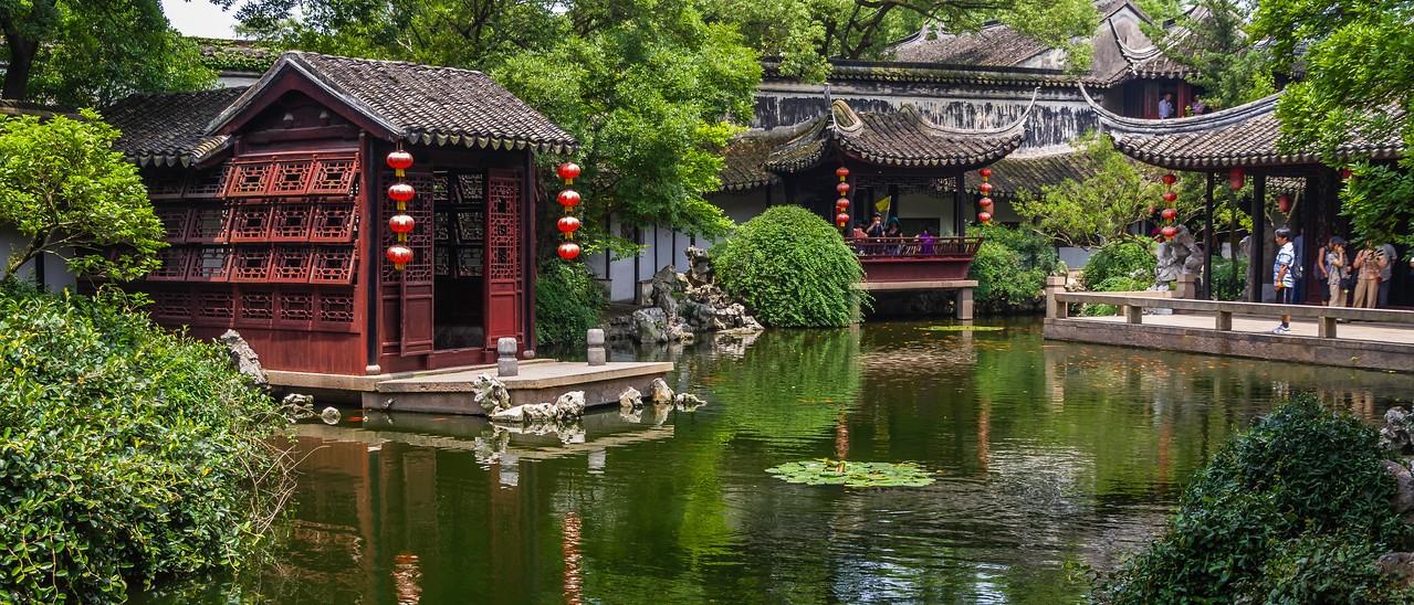 中国江苏同里,水上石桥_图1-11