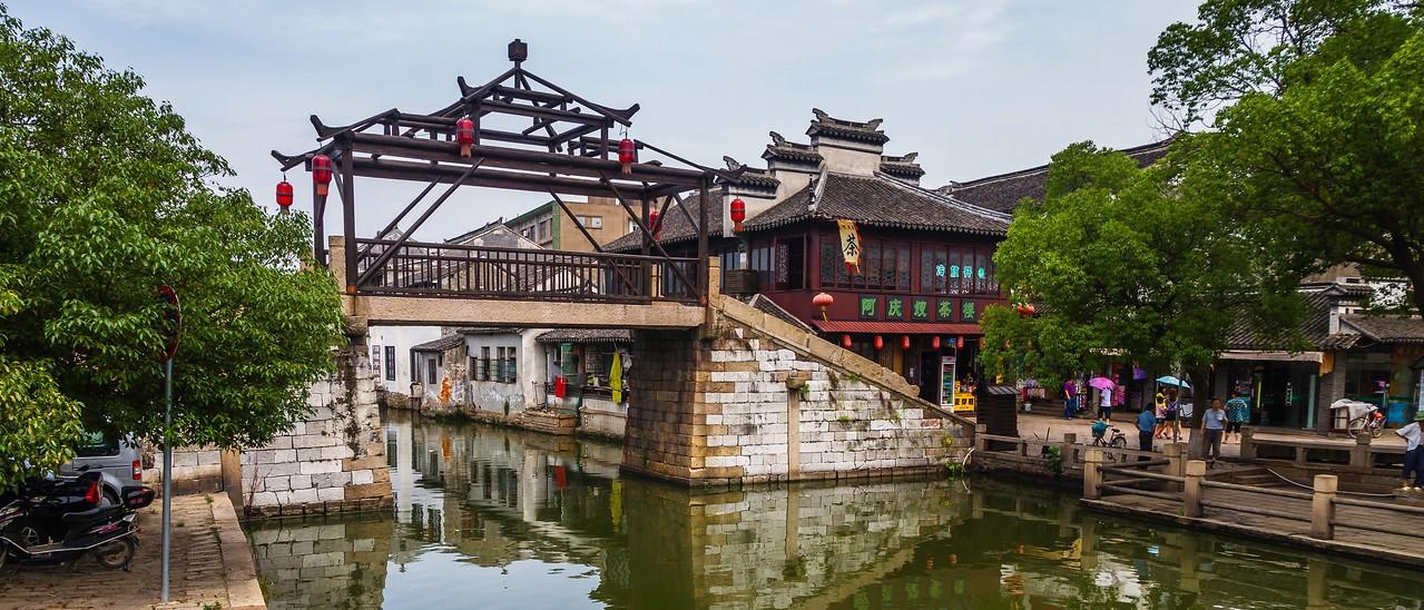 中国江苏同里,水上石桥_图1-14