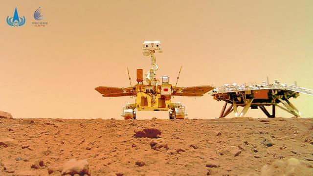 贺祝融车探测火星(七律三首)_图1-1