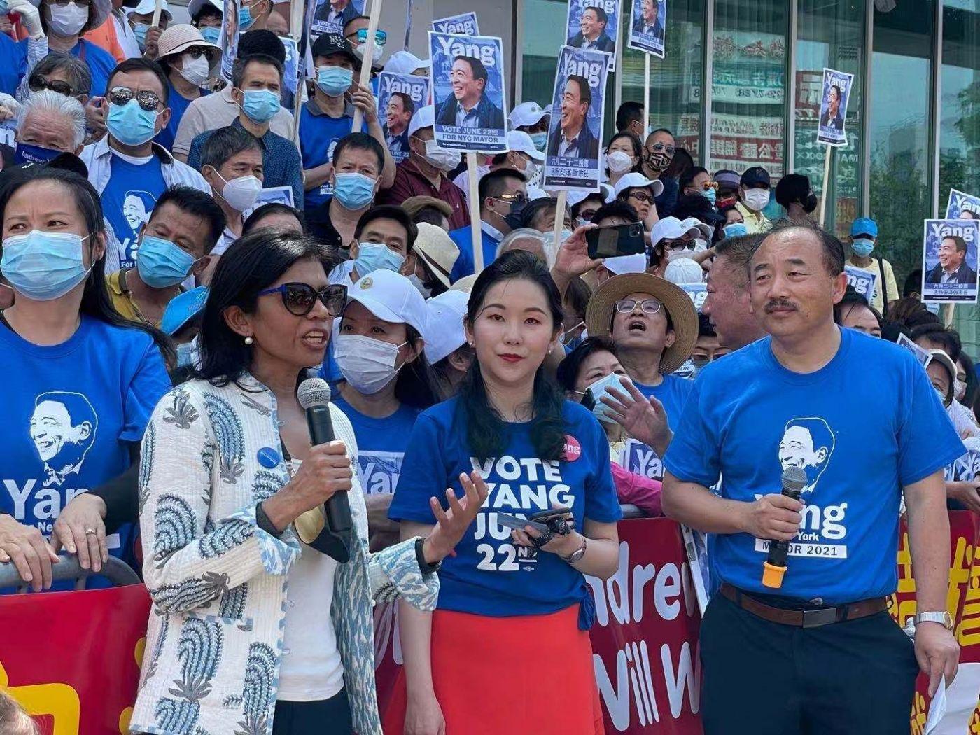 美国V视:支持杨安泽,团结就会赢!_图1-4