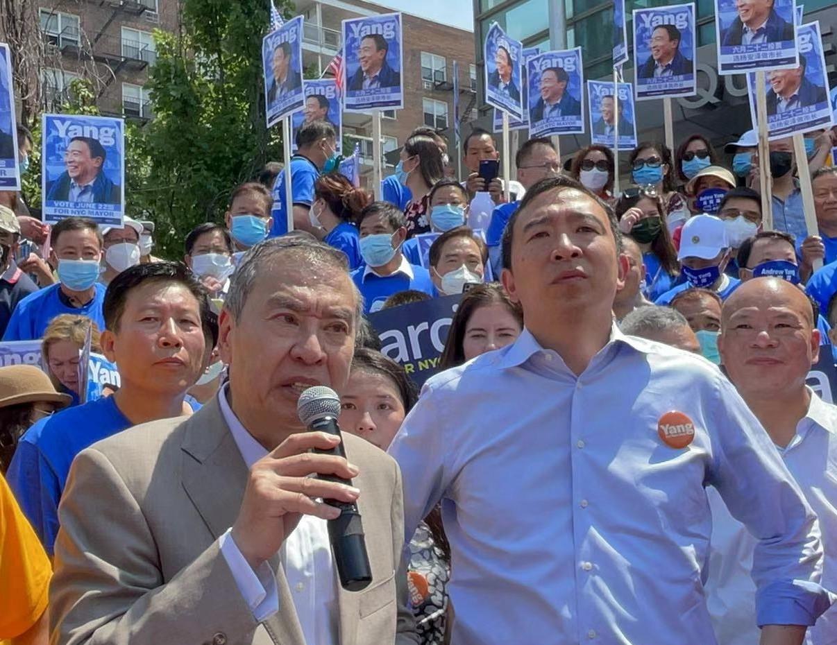 美国V视:支持杨安泽,团结就会赢!_图1-6