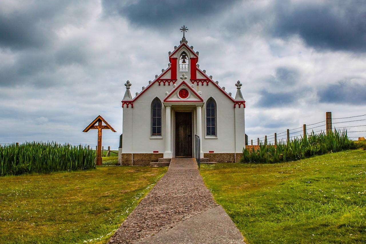 奥克尼意大利教堂(Italian Chapel),独树一帜_图1-7