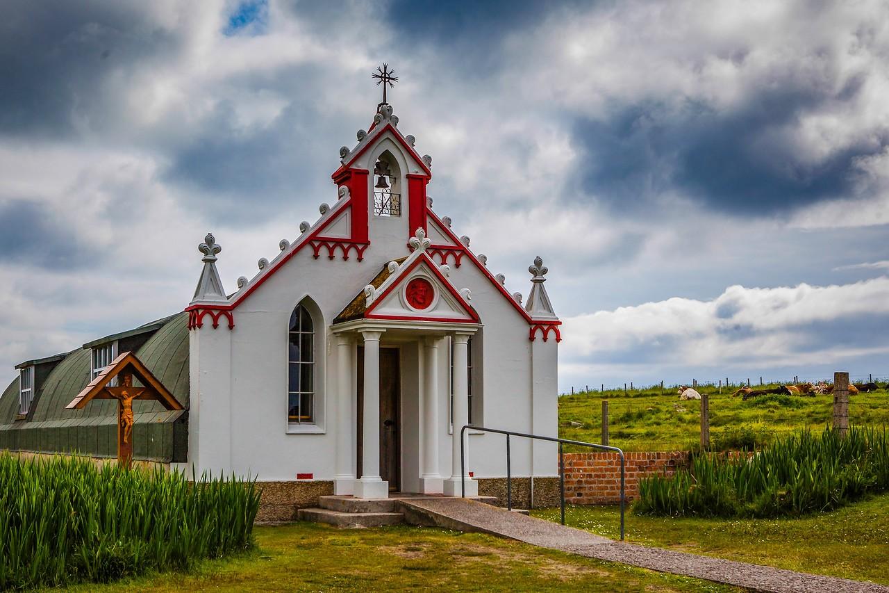 奥克尼意大利教堂(Italian Chapel),独树一帜_图1-6