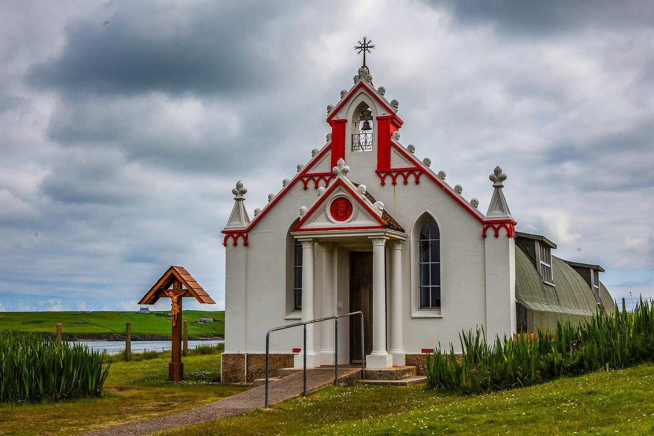 奥克尼意大利教堂(Italian Chapel),独树一帜_图1-1