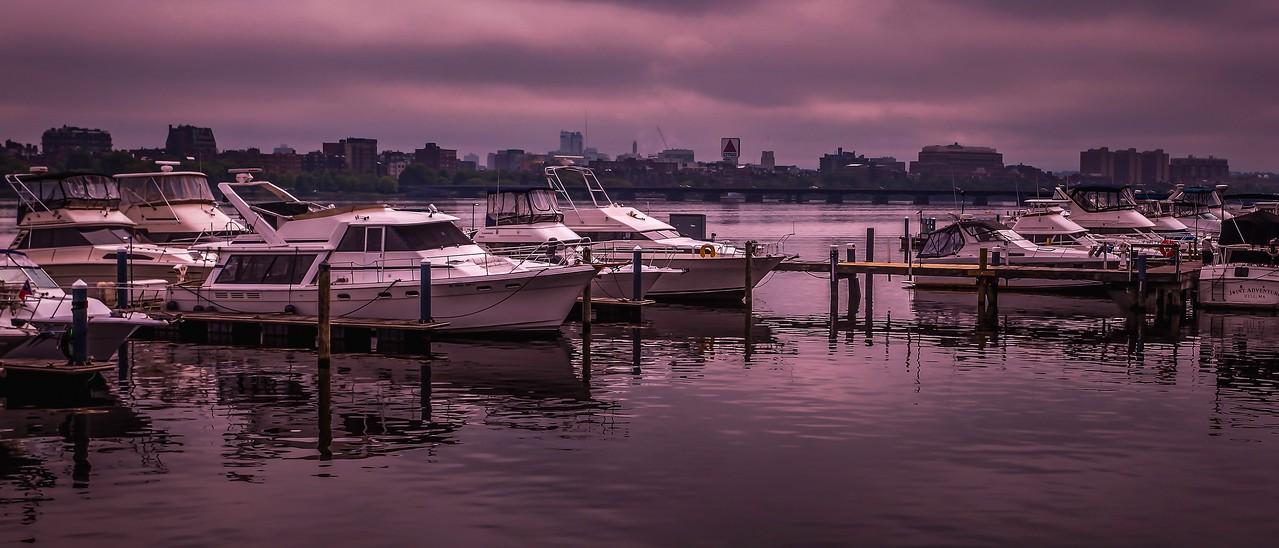 美国波士顿,城市河景_图1-15