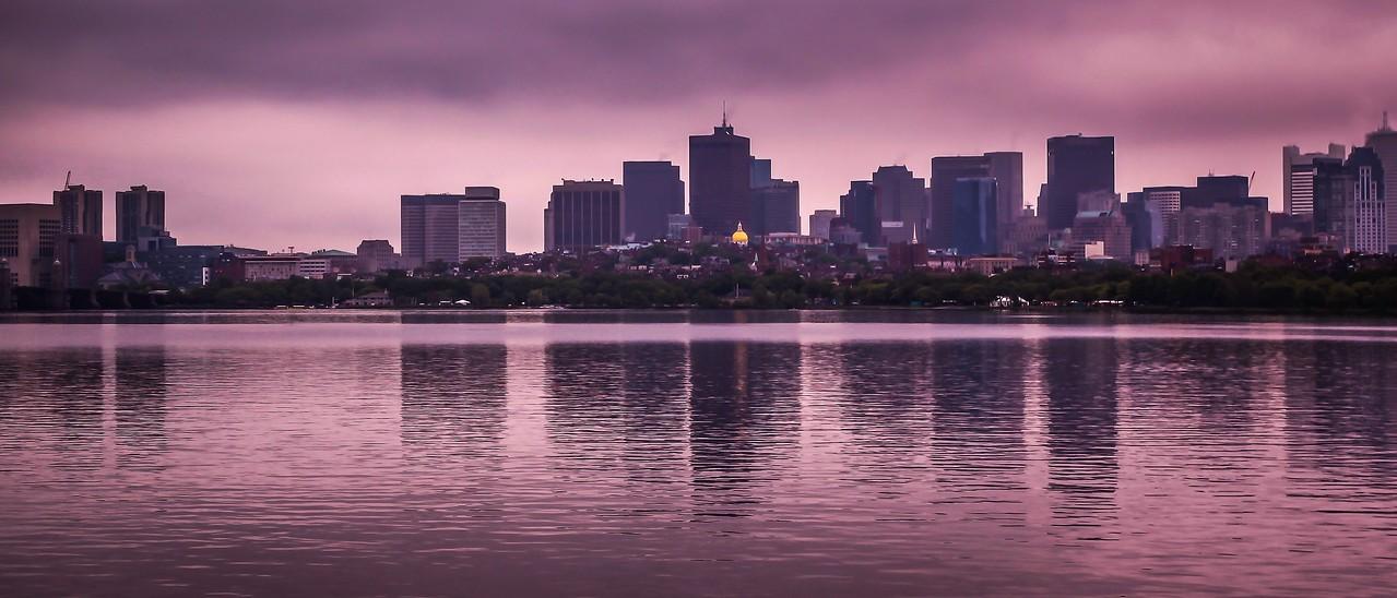 美国波士顿,城市河景_图1-14