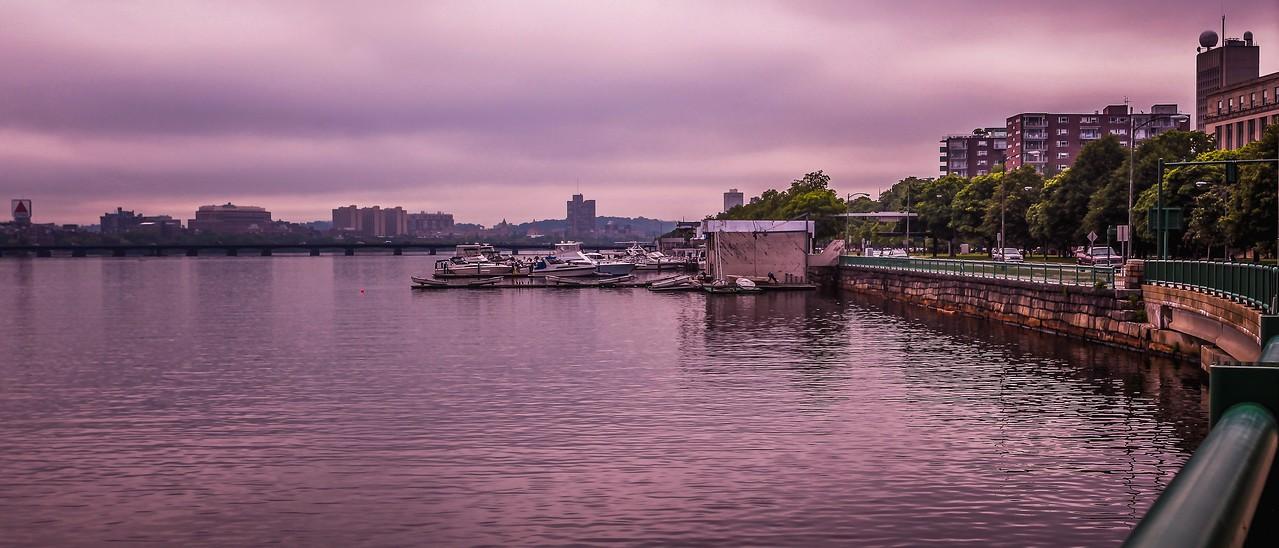美国波士顿,城市河景_图1-13