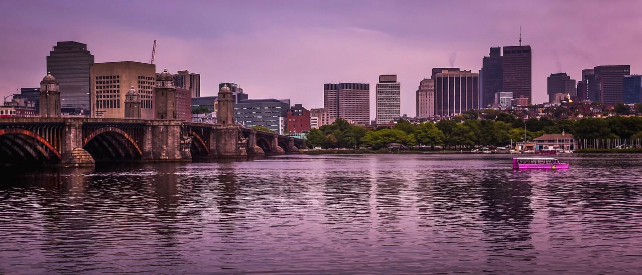 美国波士顿,城市河景_图1-16