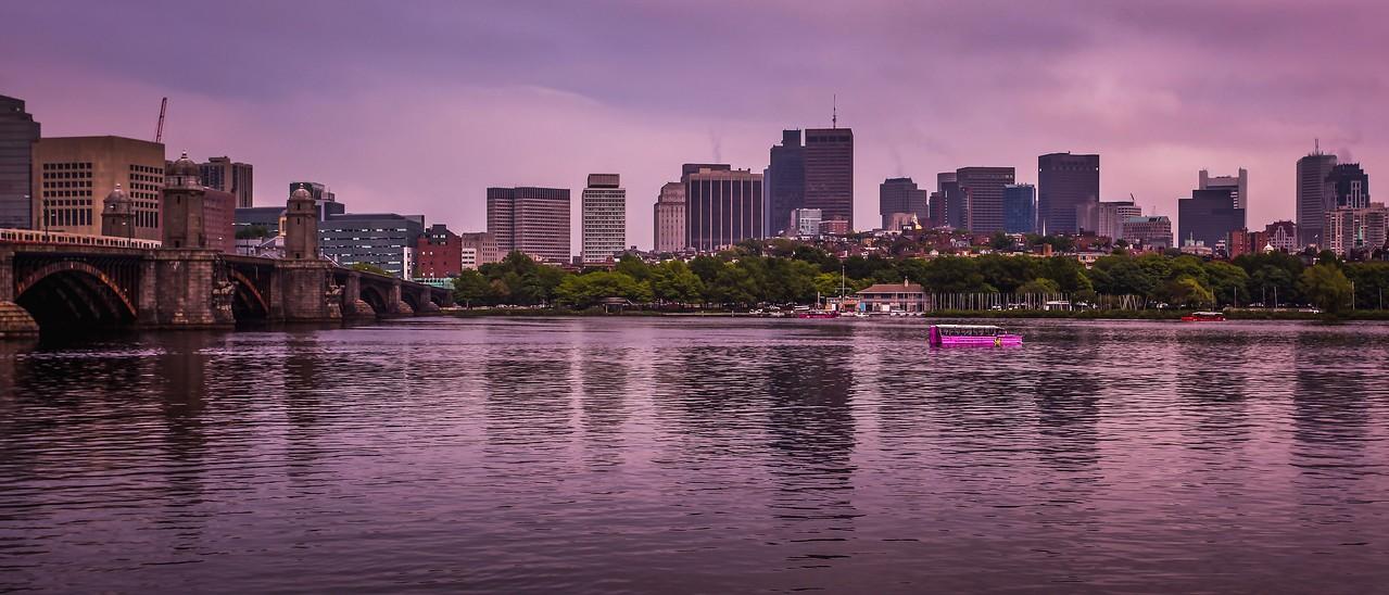 美国波士顿,城市河景_图1-11
