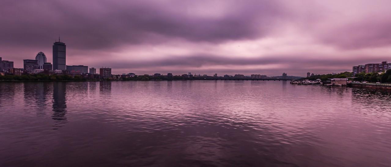 美国波士顿,城市河景_图1-10