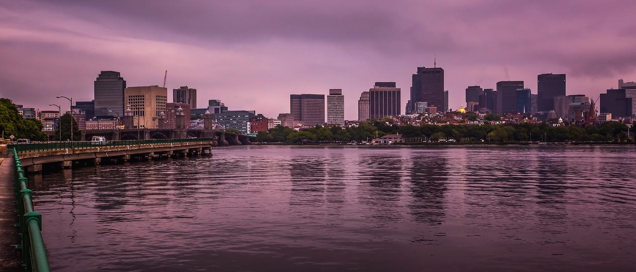 美国波士顿,城市河景_图1-5