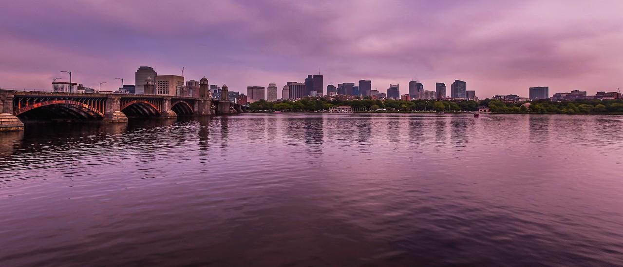 美国波士顿,城市河景_图1-9