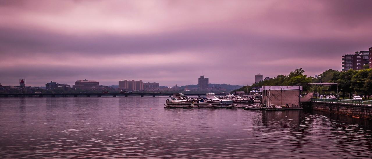 美国波士顿,城市河景_图1-12