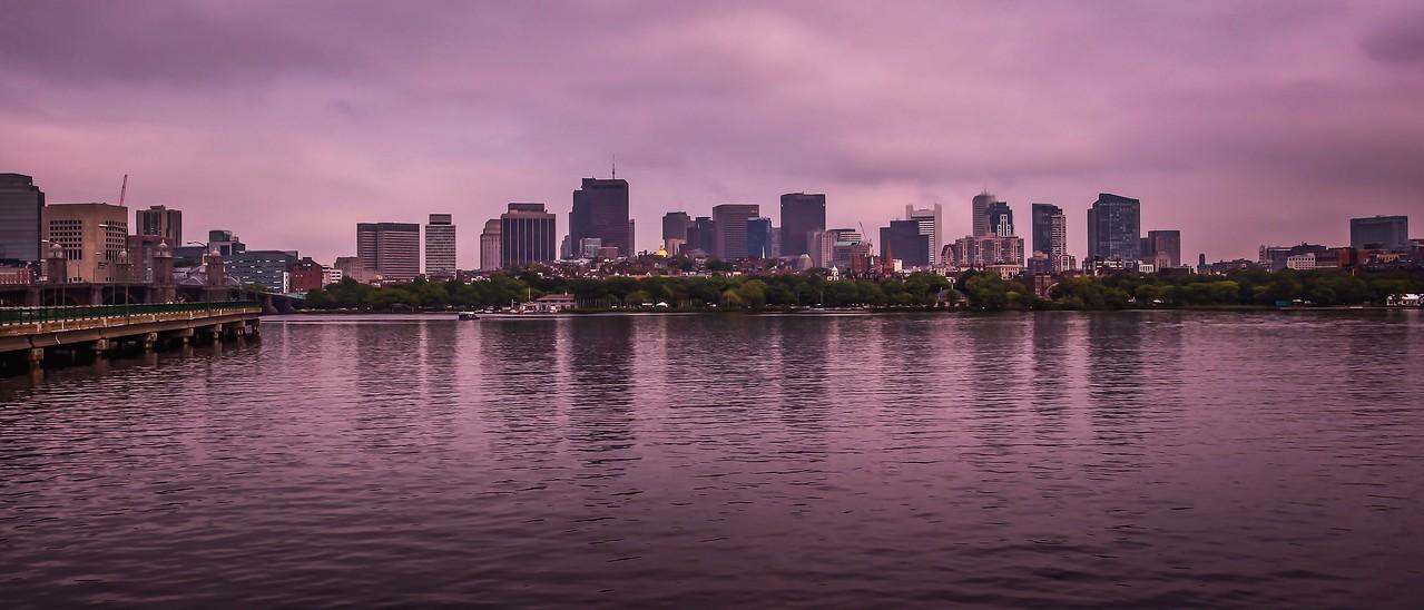 美国波士顿,城市河景_图1-7