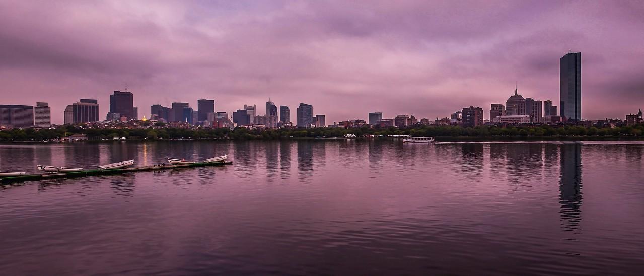 美国波士顿,城市河景_图1-8