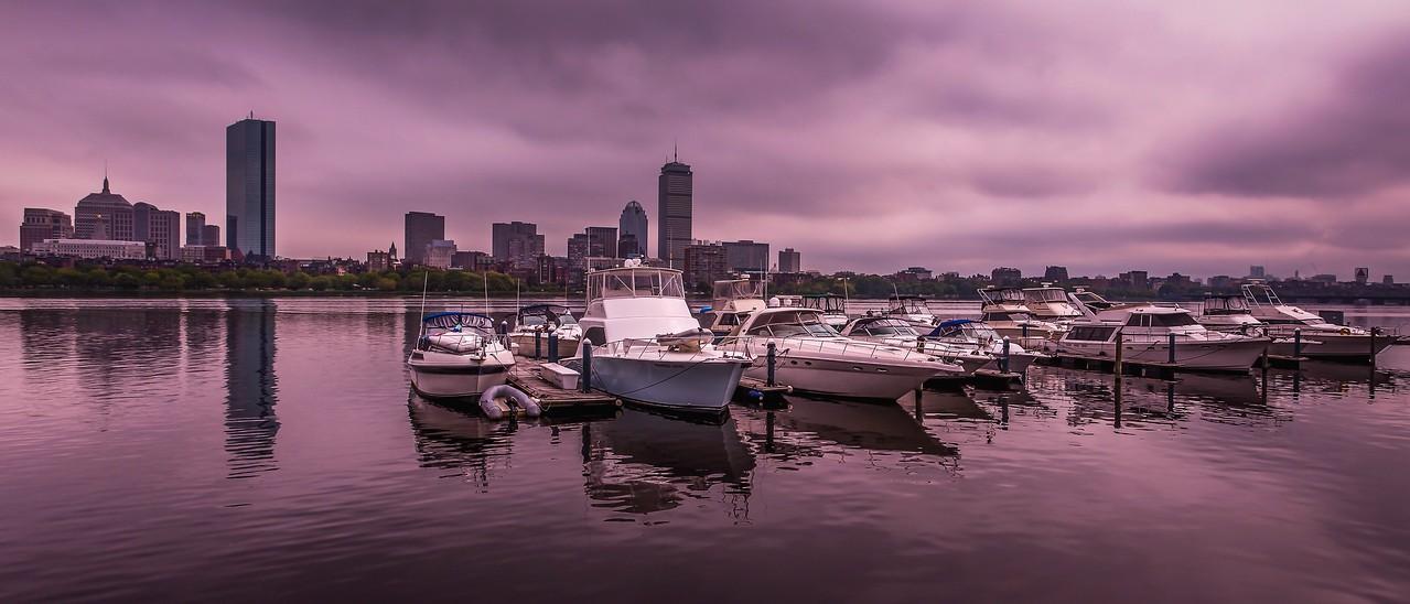 美国波士顿,城市河景_图1-20