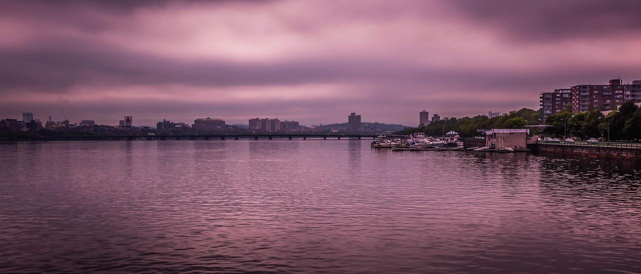 美国波士顿,城市河景_图1-19