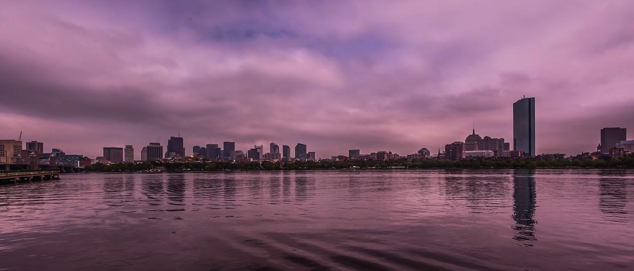 美国波士顿,城市河景_图1-18