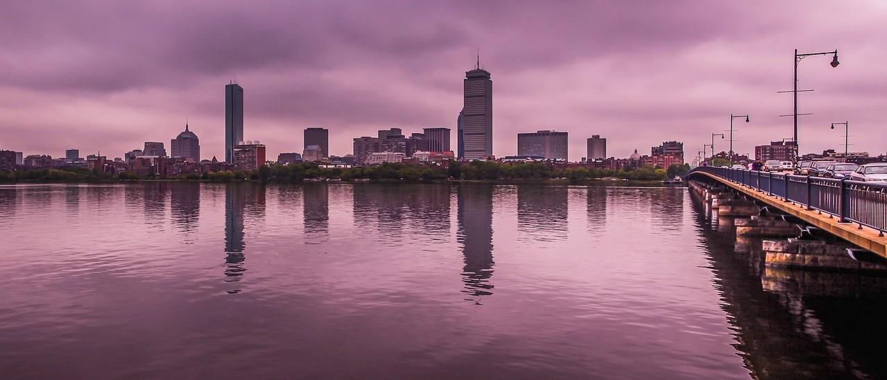 美国波士顿,城市河景_图1-17