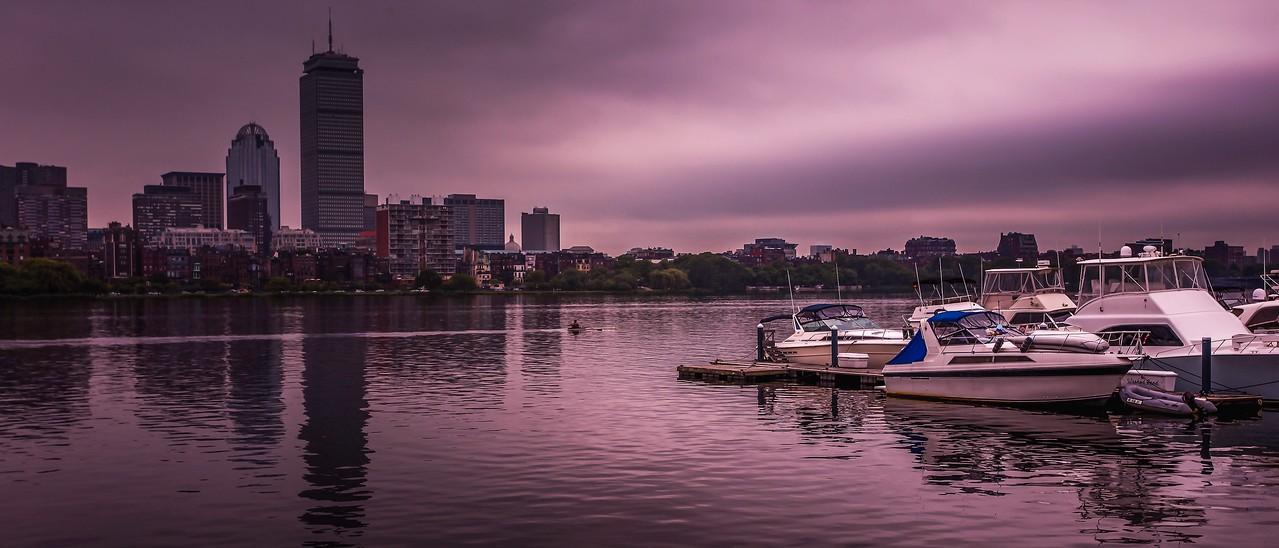美国波士顿,城市河景_图1-21
