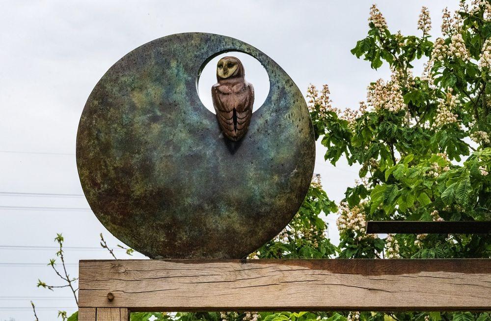 多塞特湖边的雕塑_图1-16