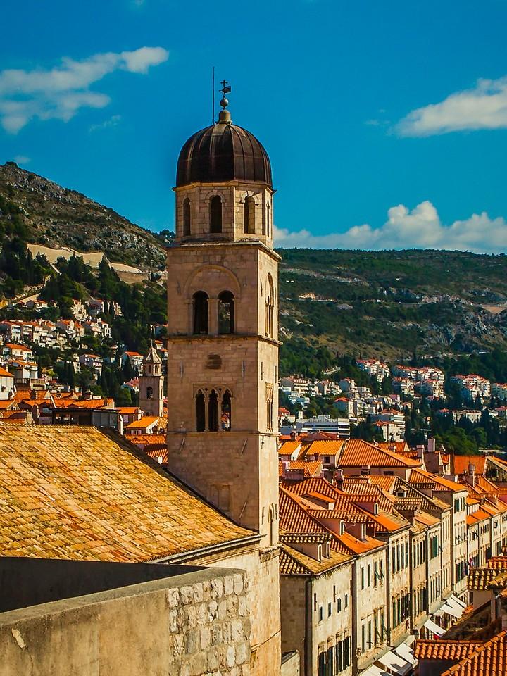克罗地亚杜布罗夫尼克(Dubrovnik),城中高塔_图1-3