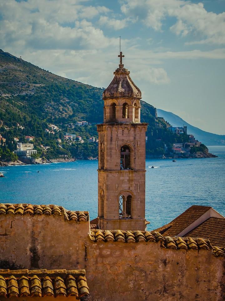 克罗地亚杜布罗夫尼克(Dubrovnik),城中高塔_图1-4