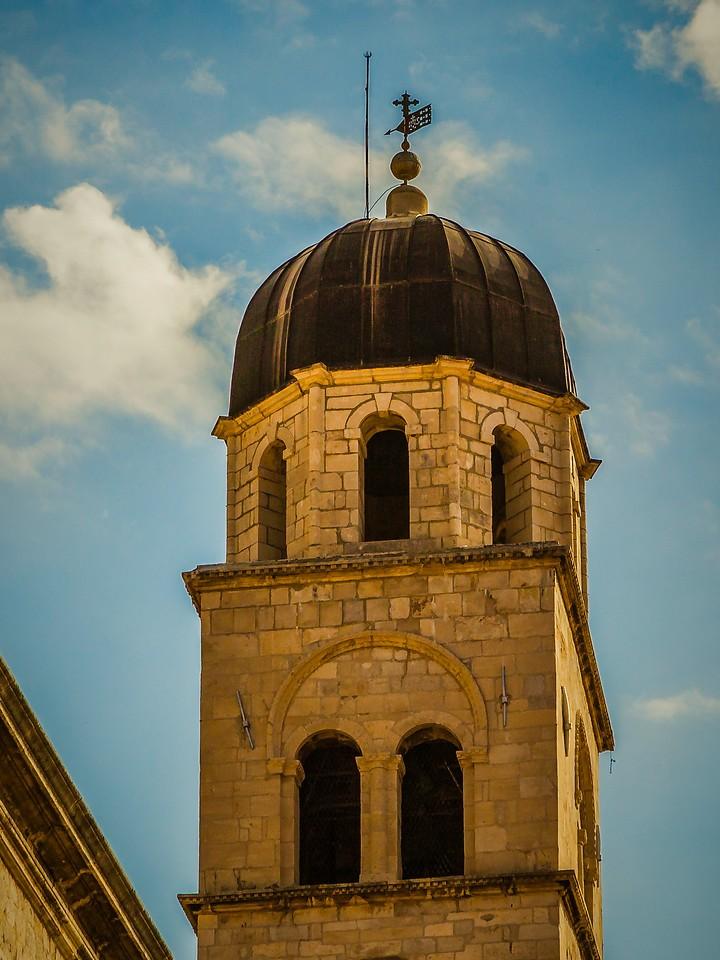 克罗地亚杜布罗夫尼克(Dubrovnik),城中高塔_图1-2