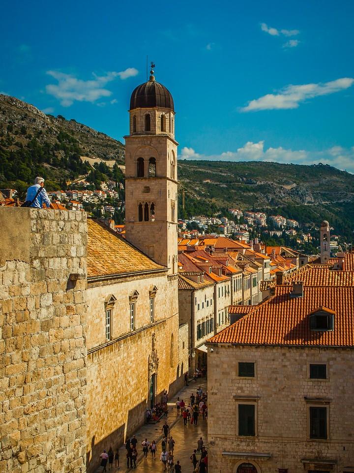 克罗地亚杜布罗夫尼克(Dubrovnik),城中高塔_图1-7