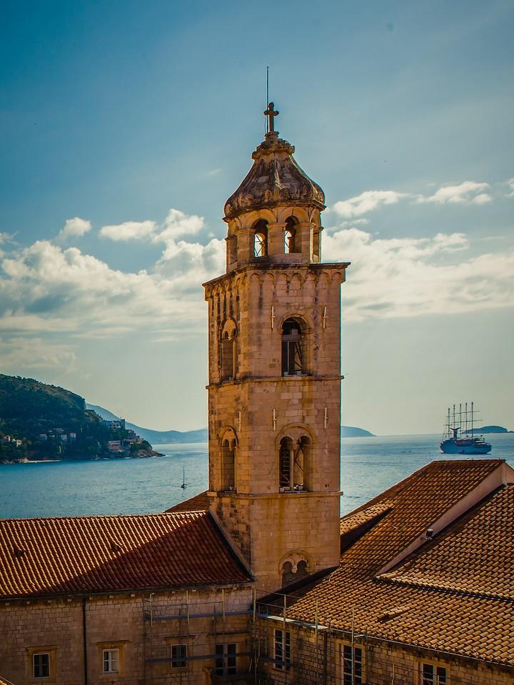 克罗地亚杜布罗夫尼克(Dubrovnik),城中高塔_图1-16