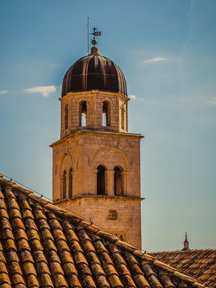 克罗地亚杜布罗夫尼克(Dubrovnik),城中高塔_图1-20