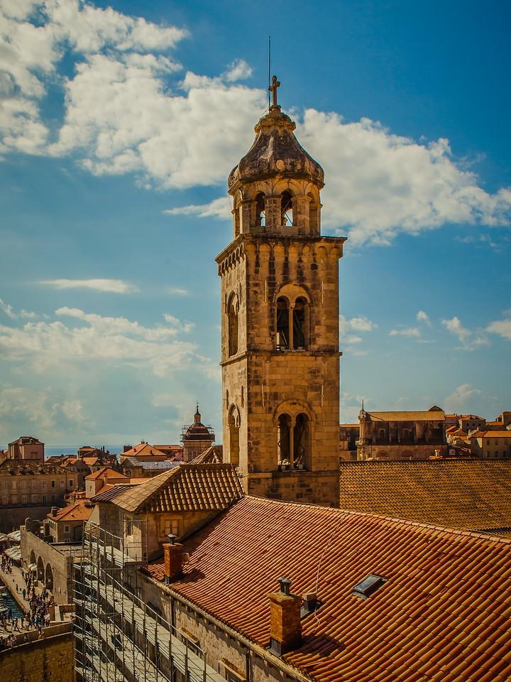 克罗地亚杜布罗夫尼克(Dubrovnik),城中高塔_图1-19