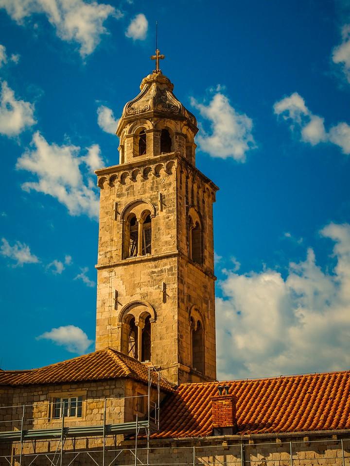 克罗地亚杜布罗夫尼克(Dubrovnik),城中高塔_图1-17