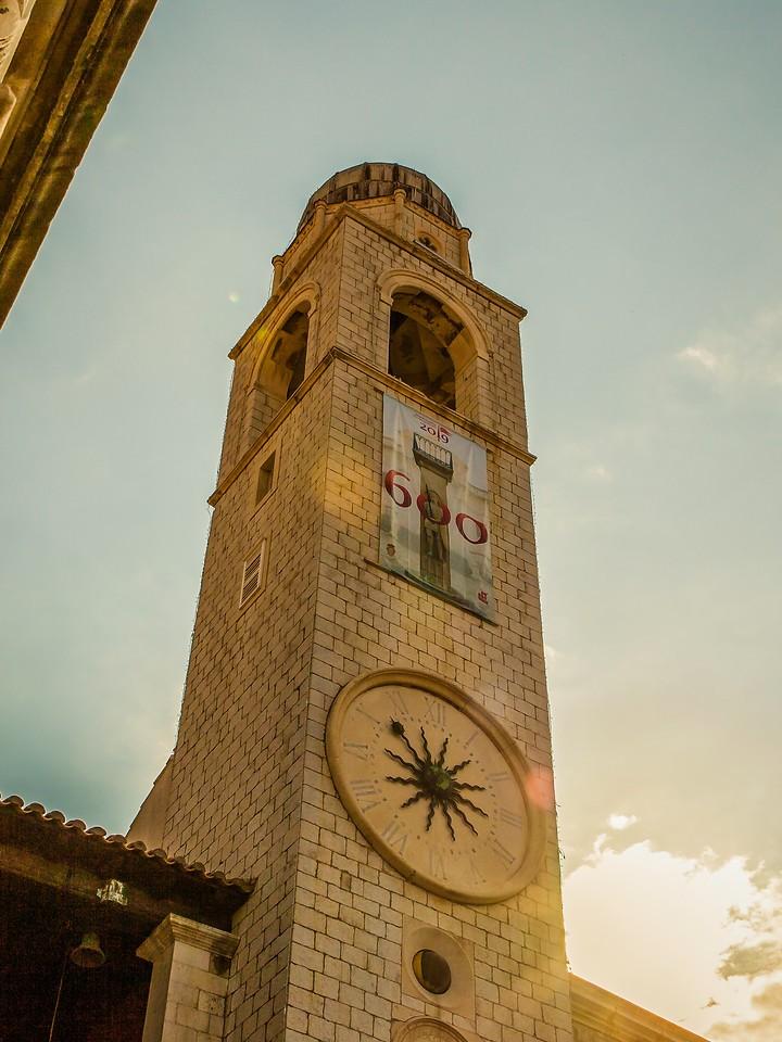 克罗地亚杜布罗夫尼克(Dubrovnik),城中高塔_图1-23