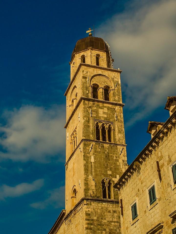 克罗地亚杜布罗夫尼克(Dubrovnik),城中高塔_图1-21