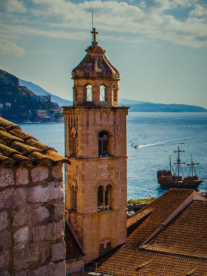 克罗地亚杜布罗夫尼克(Dubrovnik),城中高塔_图1-22