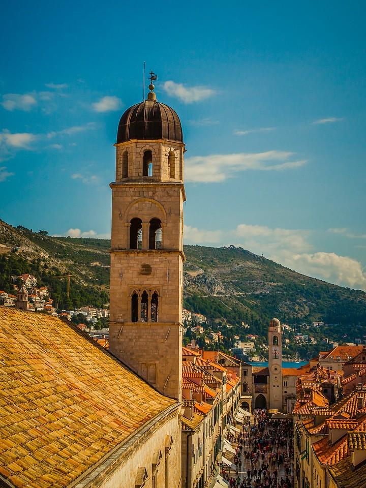 克罗地亚杜布罗夫尼克(Dubrovnik),城中高塔_图1-18