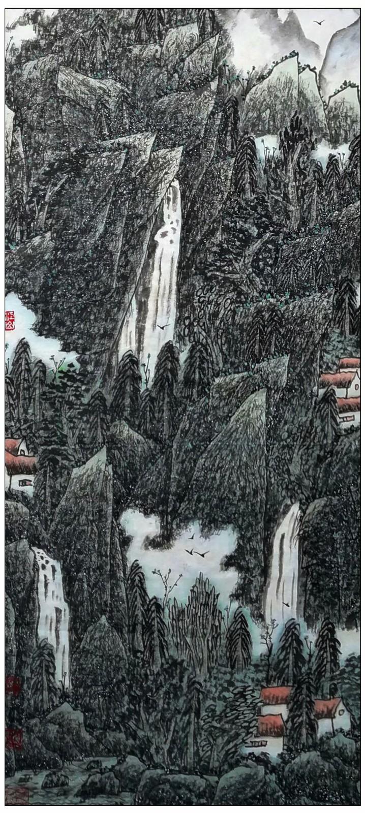 牛志高山水画-----2021.06.28_图1-6