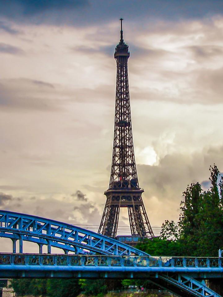 法国巴黎,铁塔地标_图1-13
