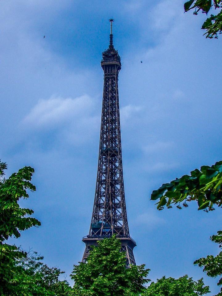法国巴黎,铁塔地标_图1-7