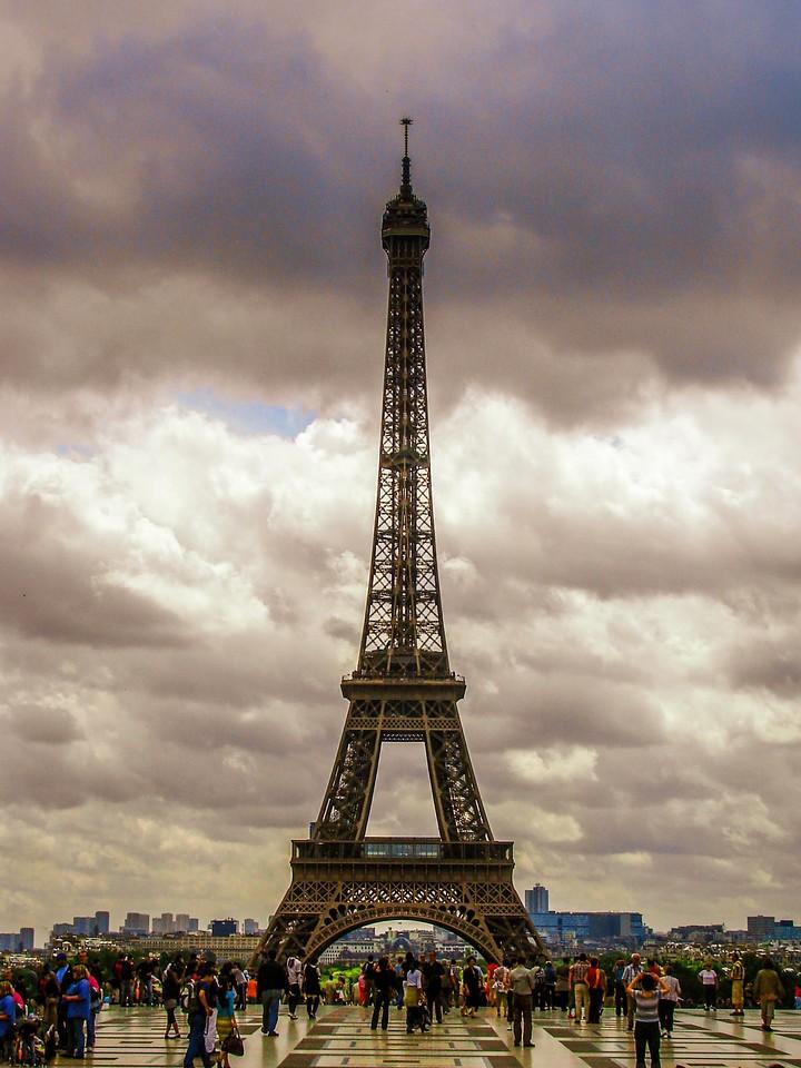 法国巴黎,铁塔地标_图1-1