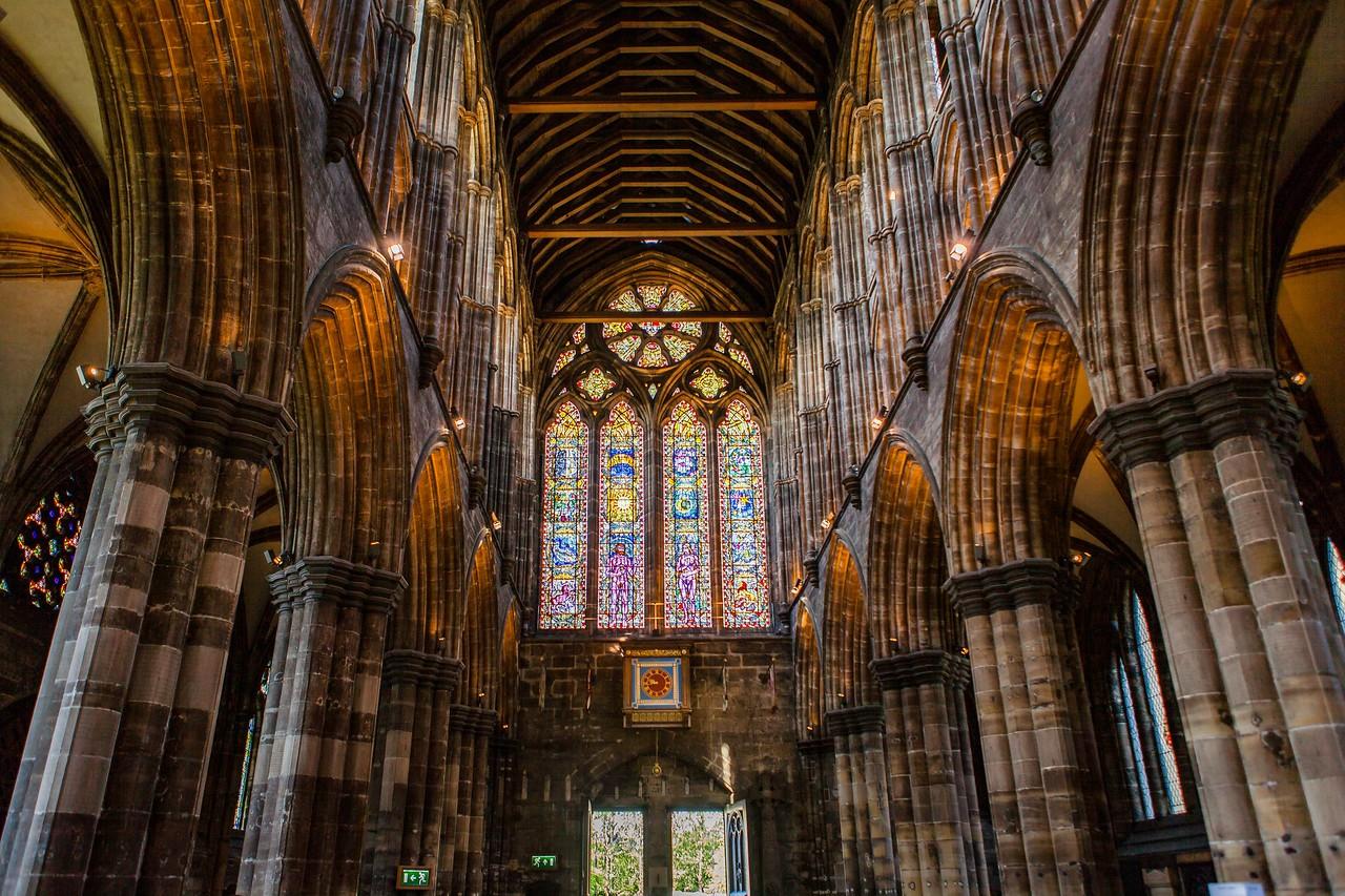 苏格兰格拉斯哥大教堂,细细欣赏_图1-6