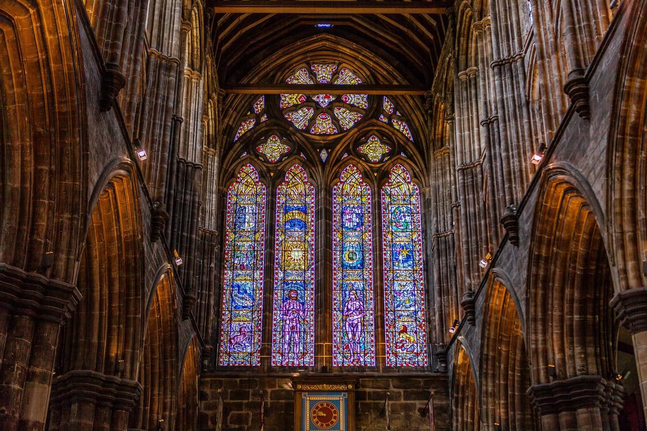 苏格兰格拉斯哥大教堂,细细欣赏_图1-7