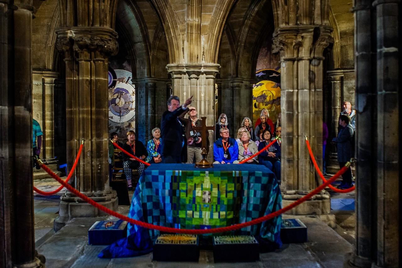 苏格兰格拉斯哥大教堂,细细欣赏_图1-8